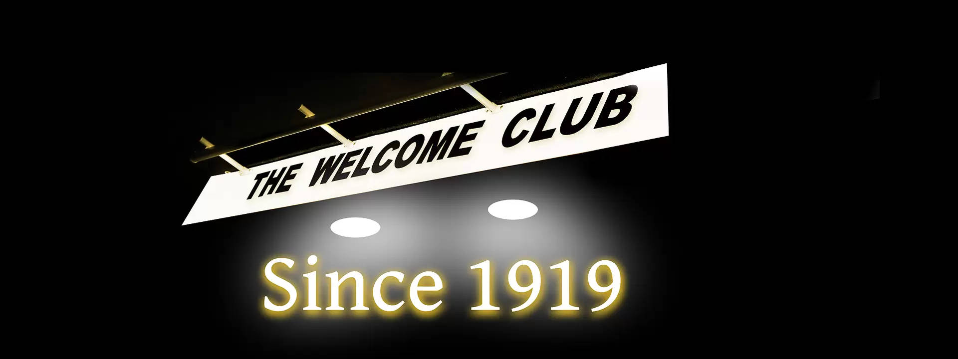 The Welcome Club Front 1919